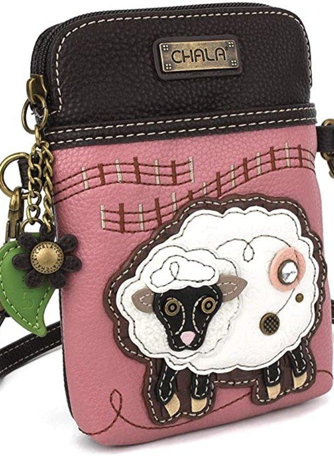 Chala Sheep Cellphone Crossbody Purse