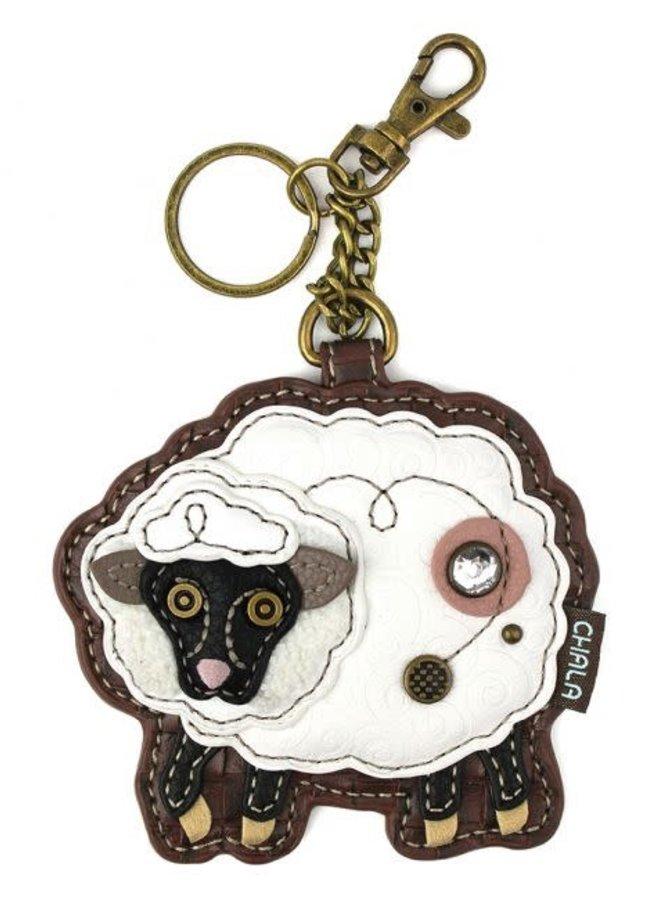 Chala Sheep Key Fob/Coin Purse