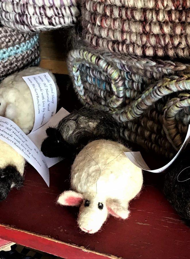 Richert Ranch Squishy Needle Felted Sheep Figurines