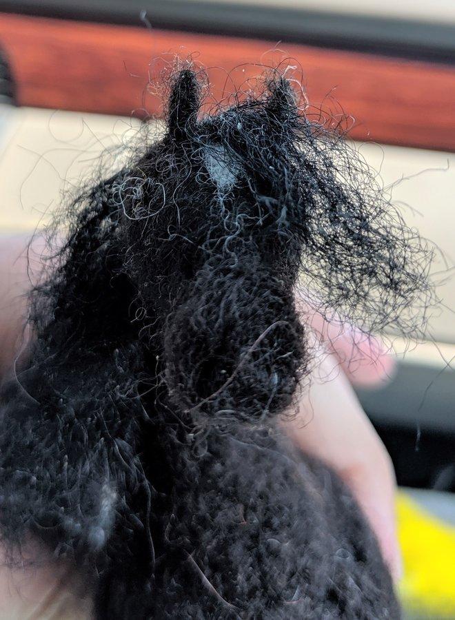 Richert Ranch Handmade Wool Horse Sculpture