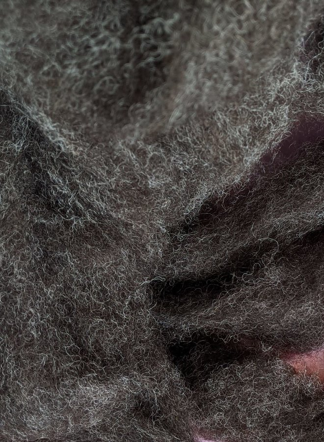 Richert Ranch 1 oz. Bag of Wool- Roving and Lincoln Longwool Curls