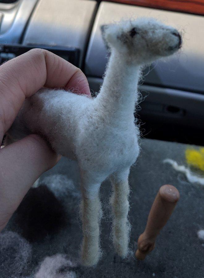 Richert Ranch Handmade Sheep Sculpture
