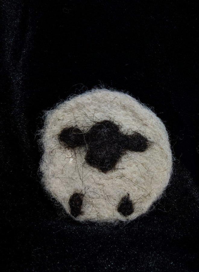 Richert Ranch Wool Hair Clips