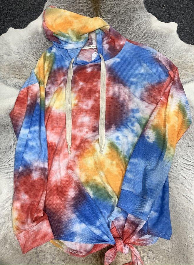 Tie-Dye Cloud Hoodie