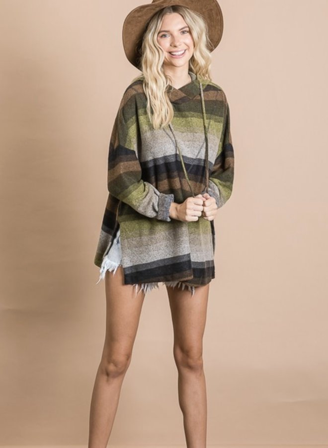 The Oliver Poncho Hoodie