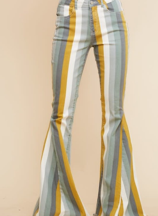 The Gold Dust Woman Striped Super Bells
