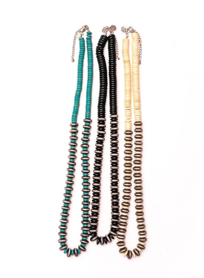 The Kennesaw Ivory Chunky Necklace