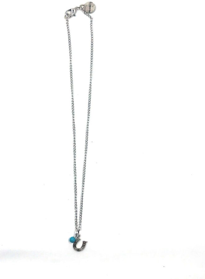 The Buford Horseshoe Charm Necklace