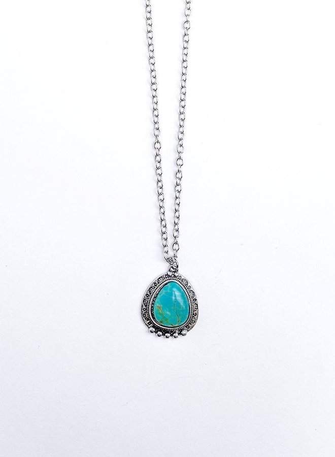The Fort Dodge Turquoise Pendant