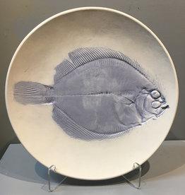 "Bowl 12"" Sand Dab Flounder"