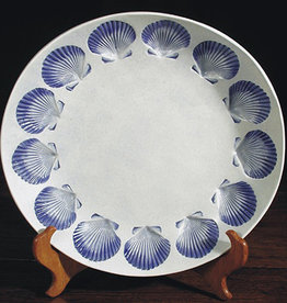 "Bowl 12"" Scallop"