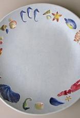 "Bowl 12"" Sea Creatures Multicolored"