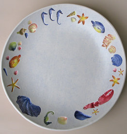 "Bowl 12"" Sea Creatures Multicolored"