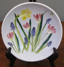 "Bowl 8"" Daffodil Grape Hyacinth Tulip"