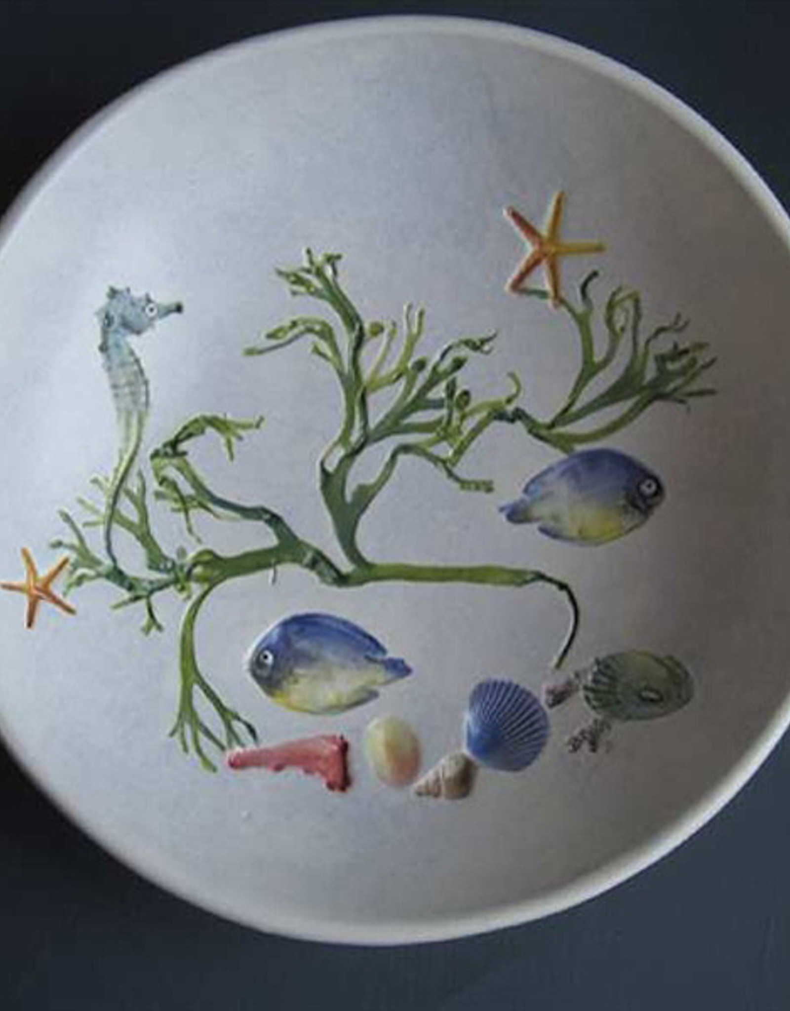 "Bowl 8"" Sea Creatures"