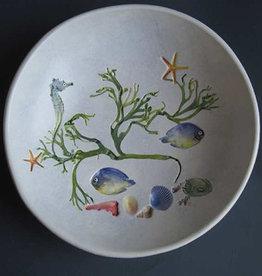 """Bowl 8"""" Sea Creatures"""