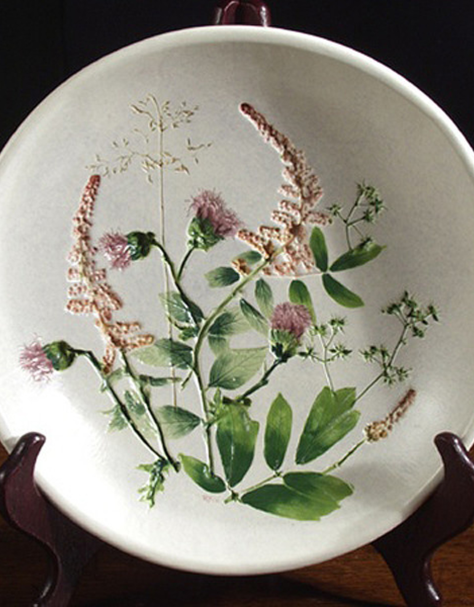 "Bowl 8"" Thistle Steeplebush"
