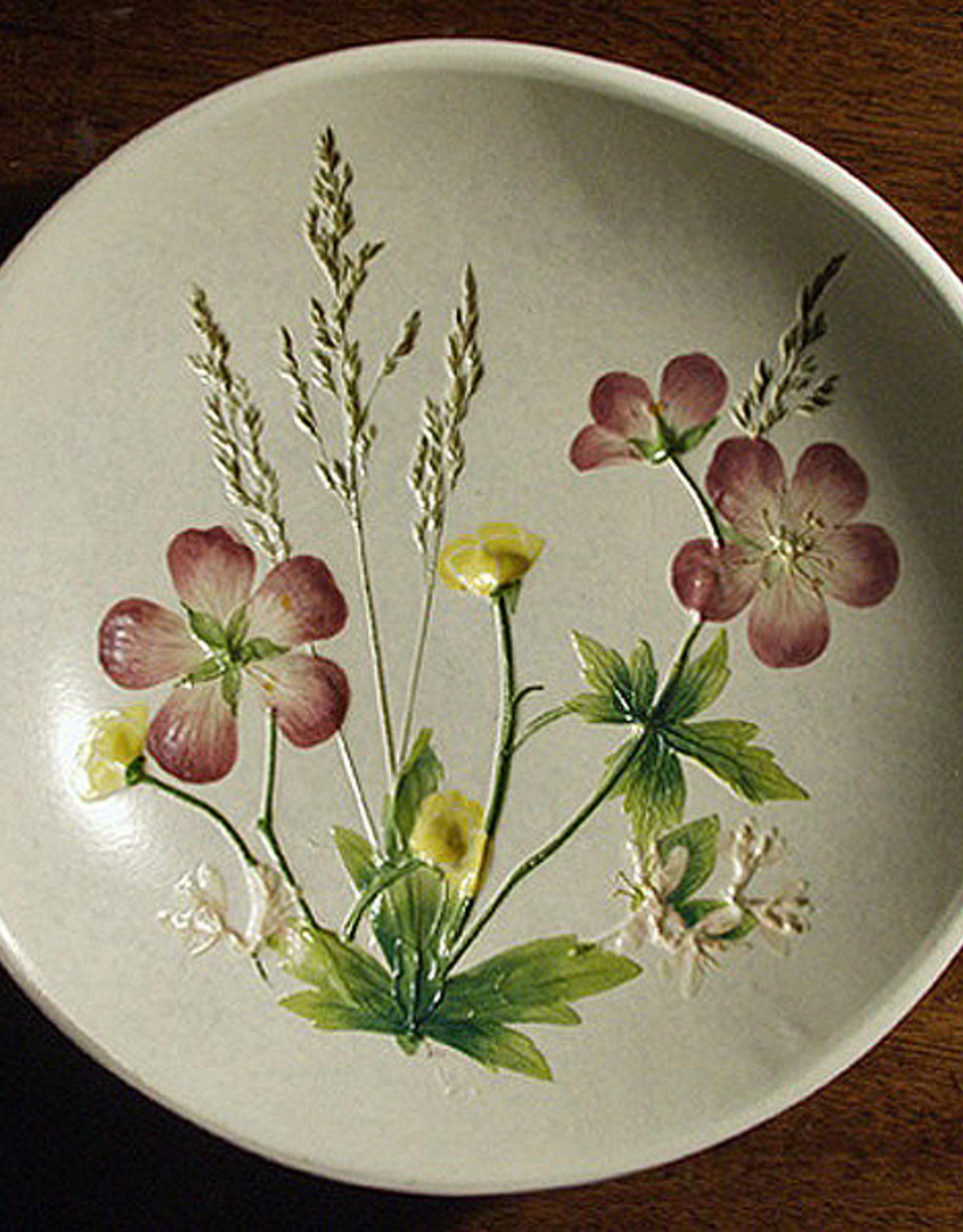 """Bowl 8"""" Wild Geranium Buttercup"""