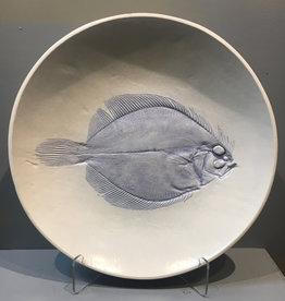 "Bowl 15"" Sand Dab Flounder"