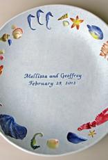 """Personalized Bowl 12"""" Sea Creatures Multicolored"""