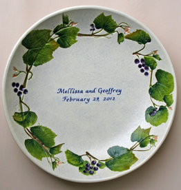"Personalized Bowl 12"" Grape"