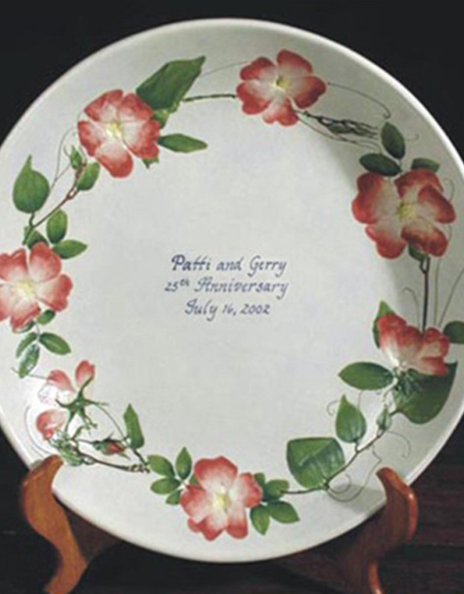 "Personalized Bowl 12"" Rose Briar"