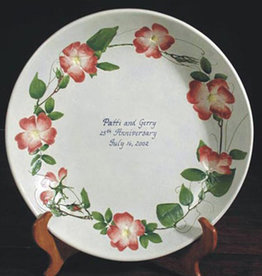 "Personalized Bowl 12"" Rose Briar"