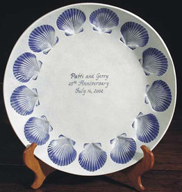 "Personalized Bowl 12"" Scallop"
