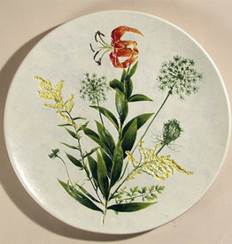 "Plate 13"" Rounded Turk's Cap Lily"