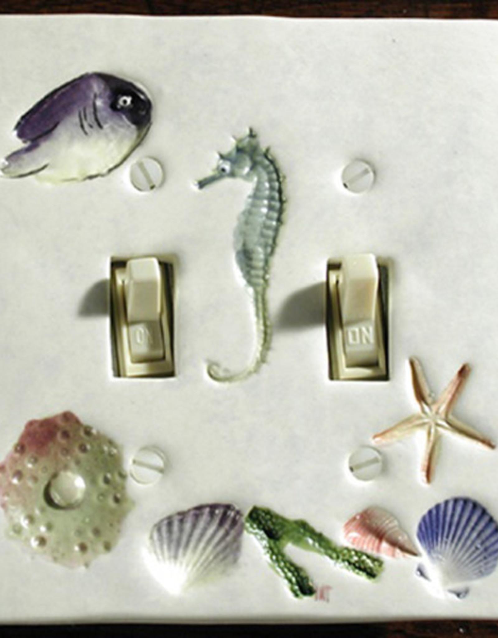 Switch Double & 4 Screws Sea Creatures