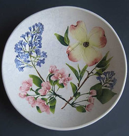 "Bowl 8"" Dogwood Cherry Lilac"