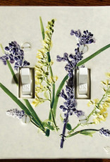 Switch Double & 4 Screws Goldenrod Salvia