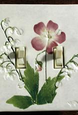 Switch Double & 4 Screws Wild Geranium