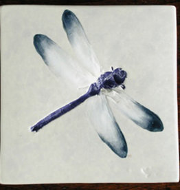 "Trivet or Tile 4.25"" Dragonfly"