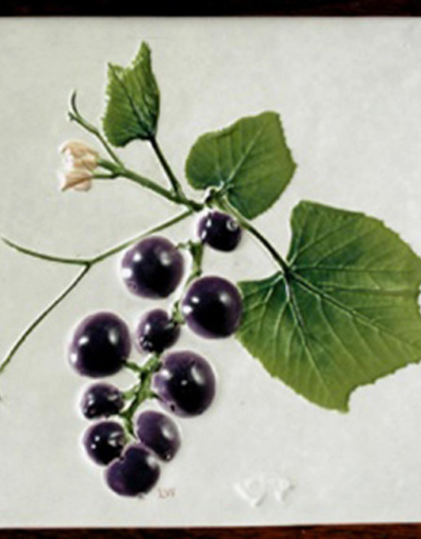 """Trivet or Tile 4.25"""" Grape"""
