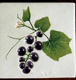 "Trivet or Tile 4.25"" Grape"