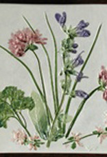 "Trivet or Tile 6"" Square Herbs"