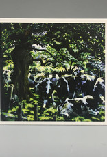 Note Card by JP, Cows Under Trees, 5 x 7