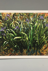 Note Card by JP, Wild Iris, 5 x 7