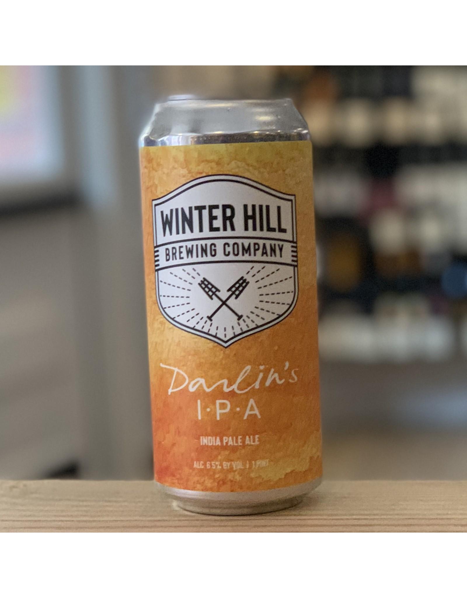 IPA Winter Hill Brewing Company ''Darlin's'' IPA - Somerville, MA