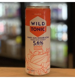 Hard Seltzer Good Omen Bottling ''WIld Tonic'' Hard Jun Kombucha w/Mango and Ginger - Cottonwood, AZ
