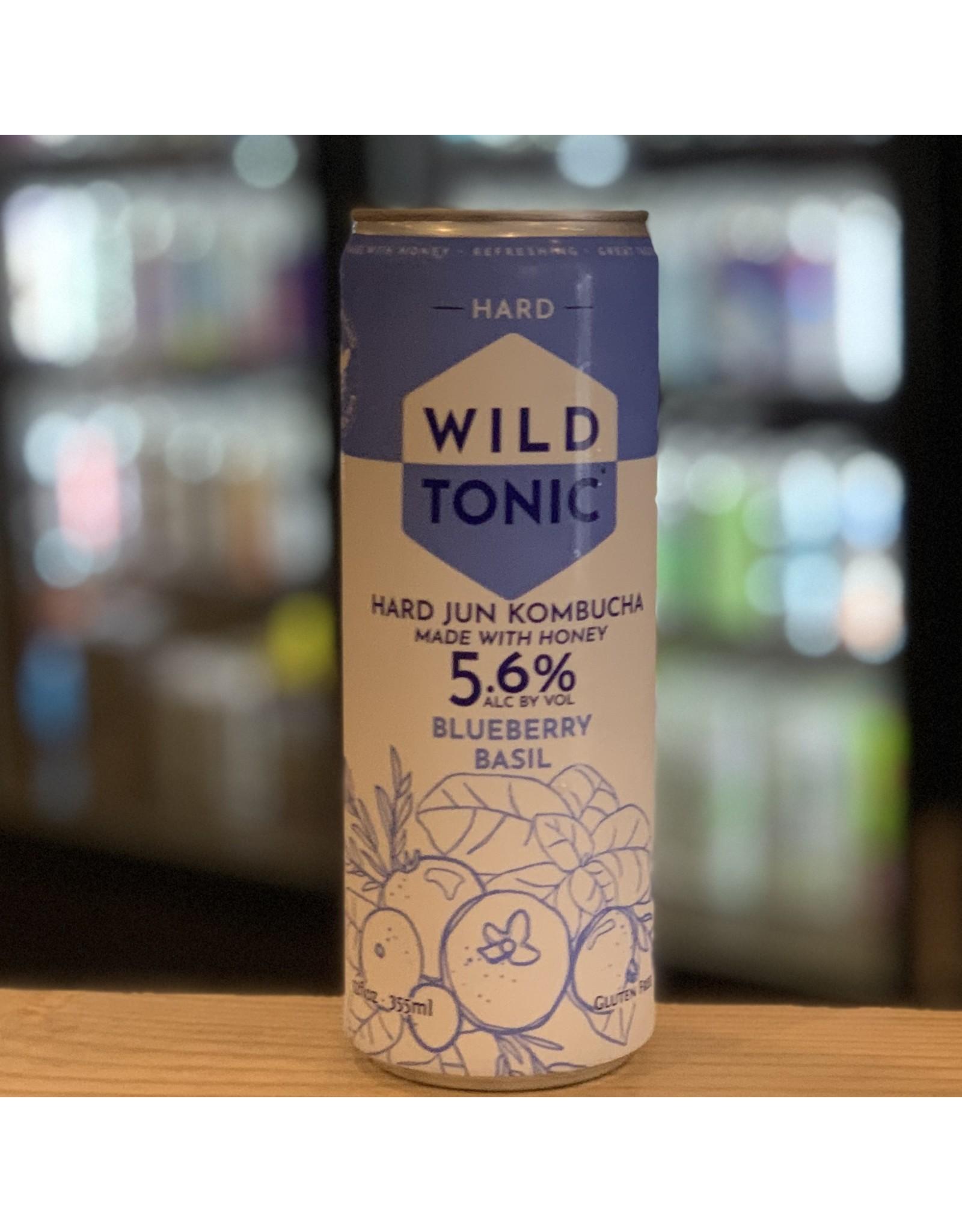 Hard Seltzer Good Omen Bottling ''Wild Tonic'' Hard Jun Kombucha w/Blueberry and Basil - Cottonwood, AZ