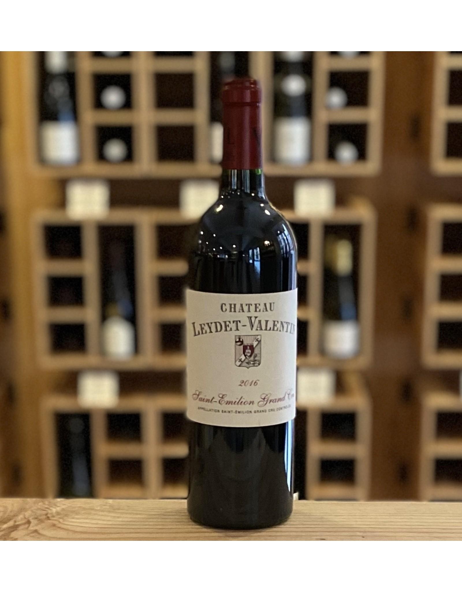 Bordeaux Chateau Leydet-Valentin Saint Emilion Grand Cru 2016 - Bordeaux, France