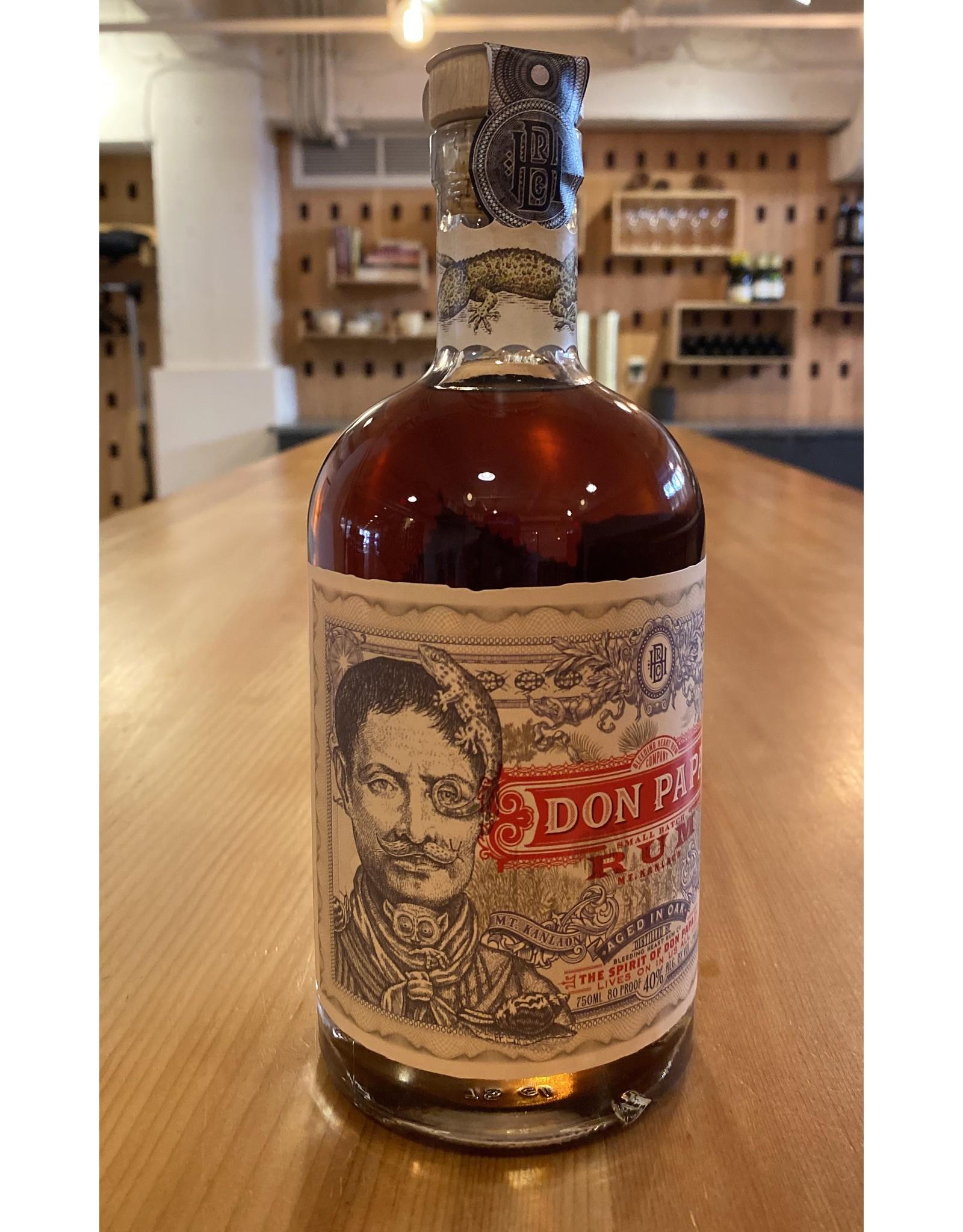 Rum Don Papa 7yr Small Batch Rum - Phillipines