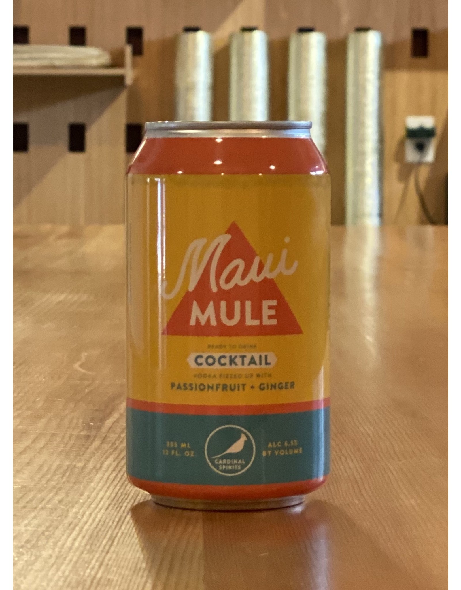 RTD Cardinal Spirits ''Maui Mule'' RTD Cocktail