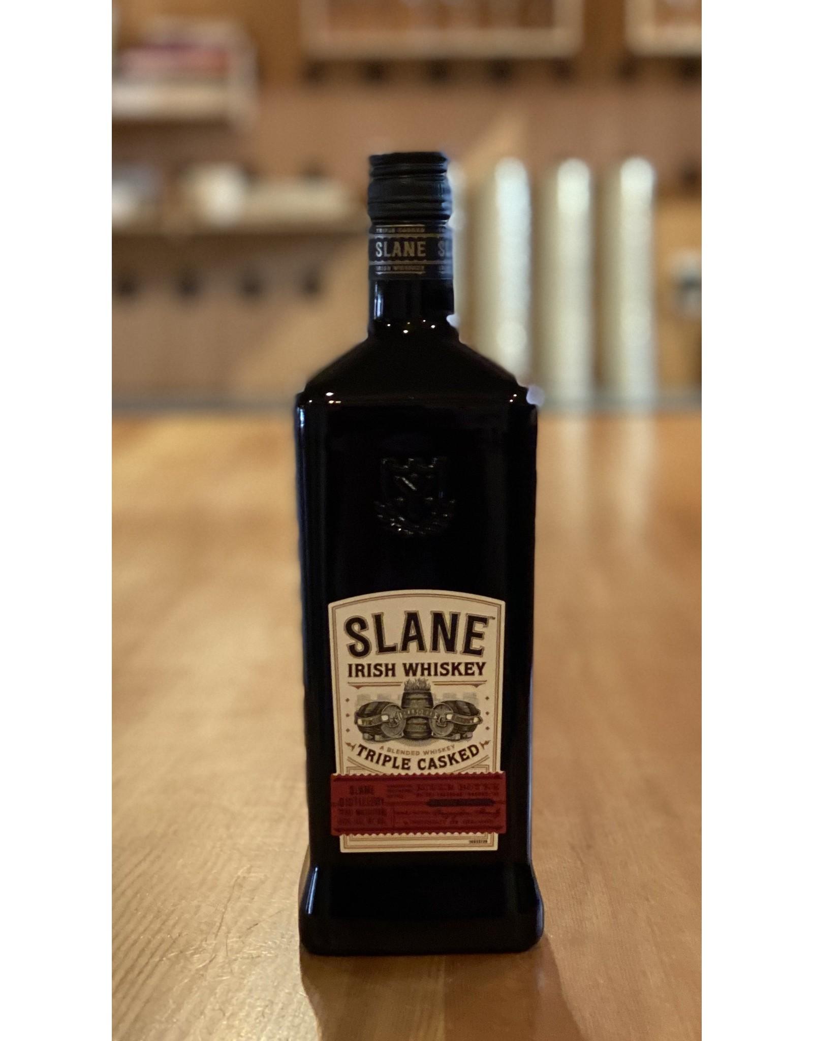 Irish Slane Triple Casked Irish Whiskey - Slane County, Ireland