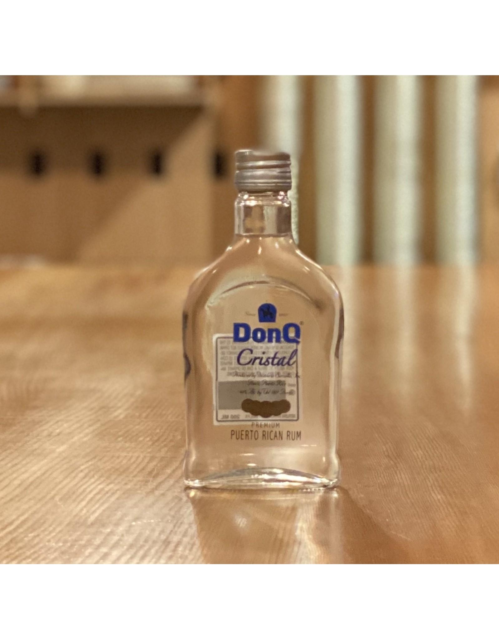 Rum Don Q Cristal Rum 200ml - Puerto Rico