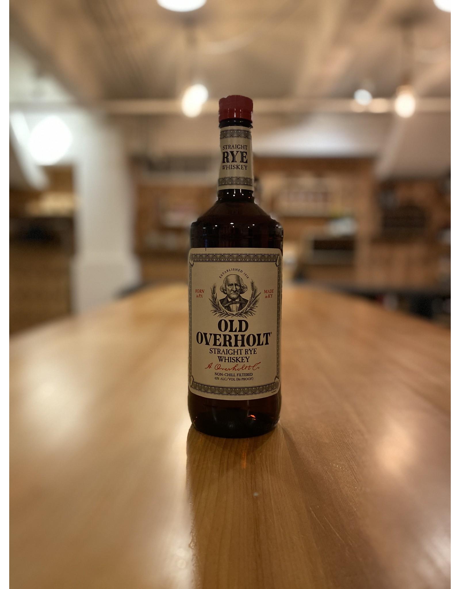 Rye Old Overholt Straight Rye Whiskey 1 Liter