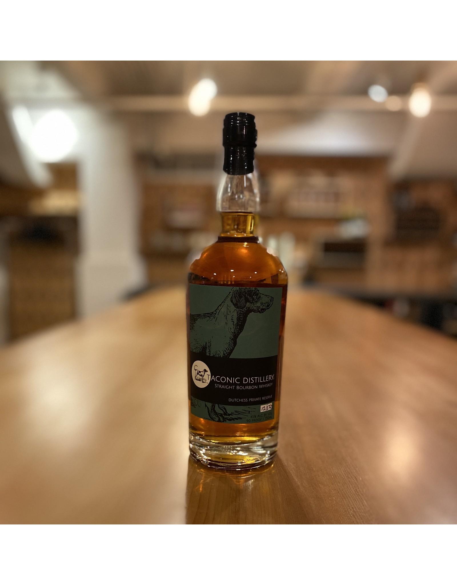 Bourbon Taconic Dutchess Private Reserve Straight Bourbon 750ml