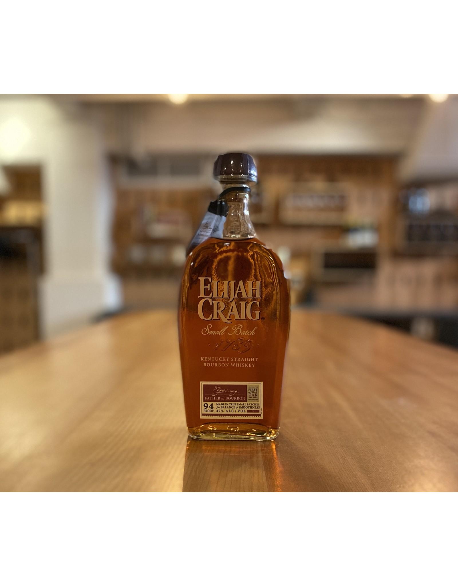 """Bourbon Elijah Craig """"Small Batch"""" Bourbon 750mL - Kentucky"""